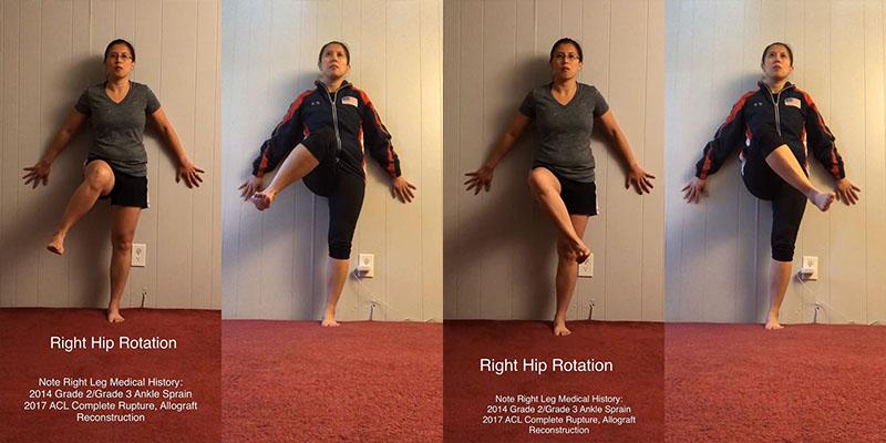 Improve Hip Internal and External Rotation