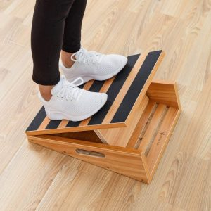 slant board used for ankle mobility training