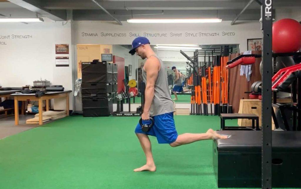 split squat strength exercise