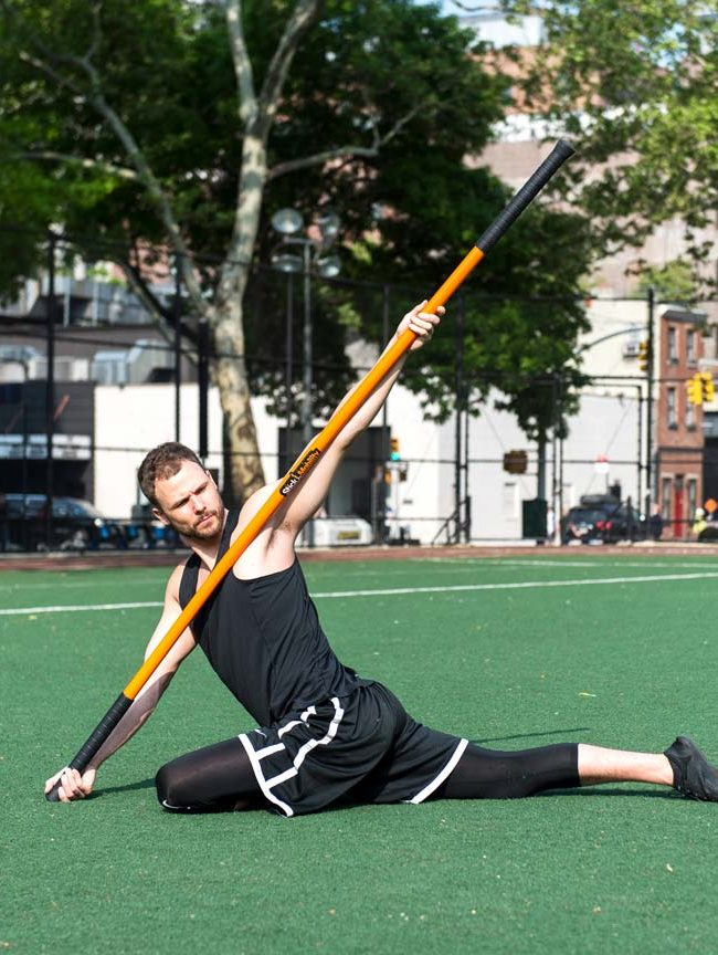 train rotation with stick mobility